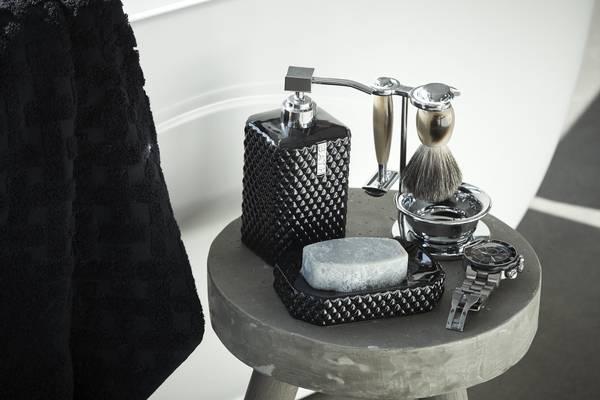Marion Dispenser Sort H 18cm