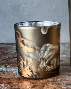 Bilde av Lysglass med fugl H 8cm