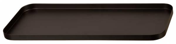 Lysfat Sort 17x40cm
